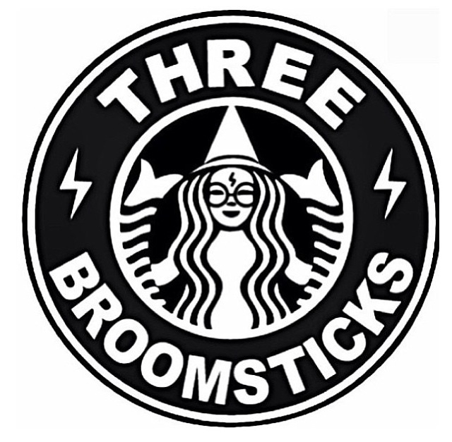 640x627 Starbuck Logo Vector Three Broomsticks Potter
