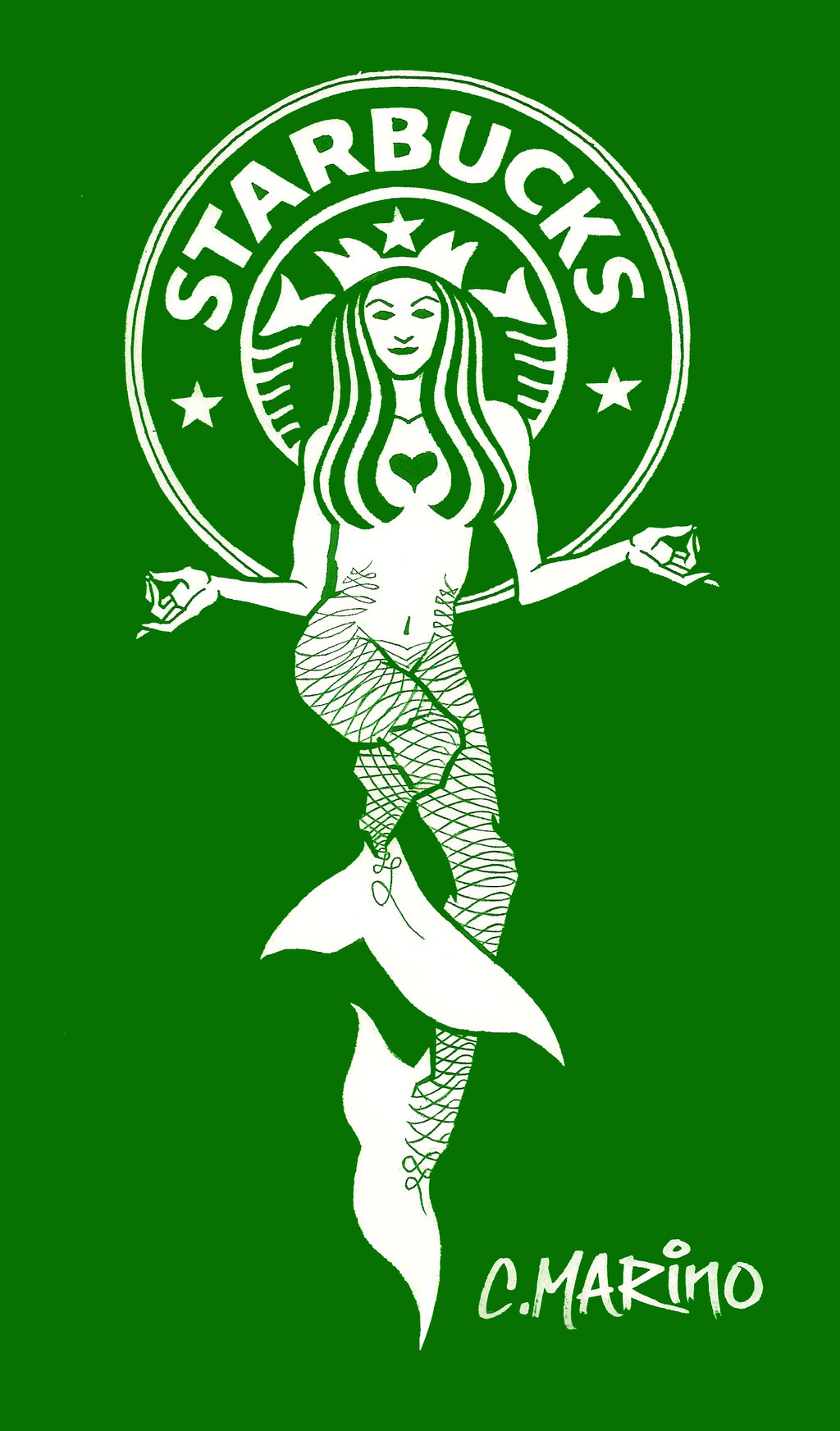1024x1744 Starbucks Logo Mermaid Redes.. By Cory Marino