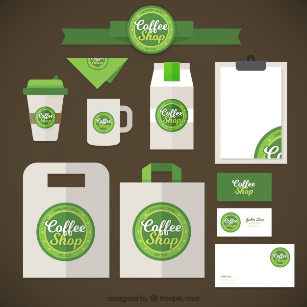 626x626 Starbucks Brand Stationery Vector Free Download