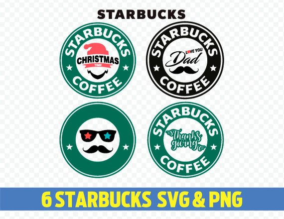 570x440 Starbucks Svg Starbucks Logo Svg Starbucks Logo Vector Etsy