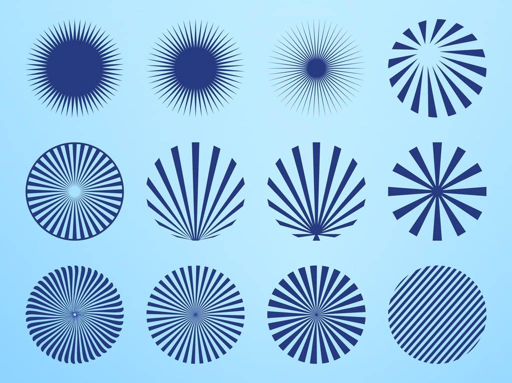 1024x765 Radial Starburst Patterns Vector Art Amp Graphics