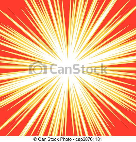 450x470 Bursting Radial Lines Dutone Explosion Effect. Starburst