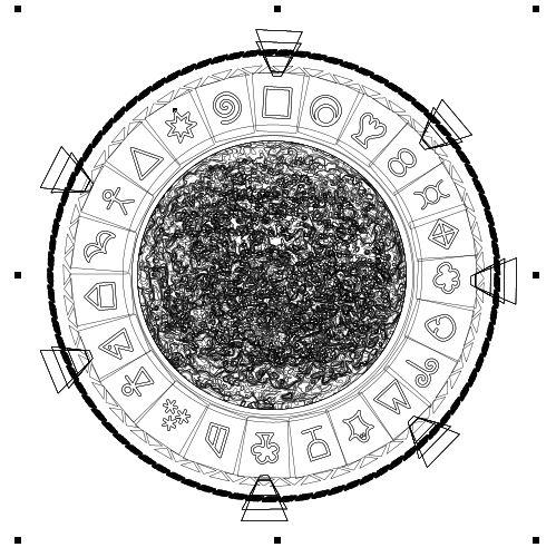 Gate Builder: Milky Way Stargate | 500x499