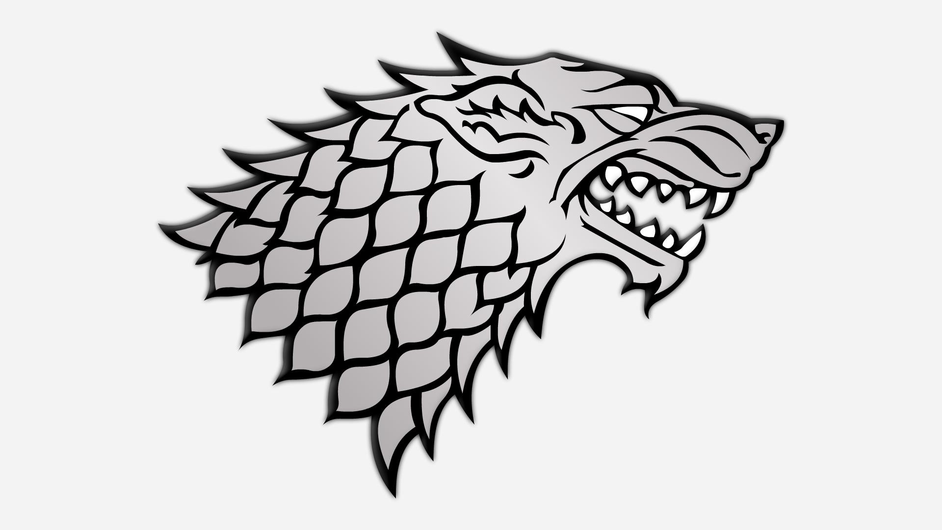1920x1080 House Stark Logos