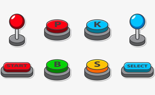 650x400 Game Start Button Vector, Game Vector, Button Vector, Vector Png