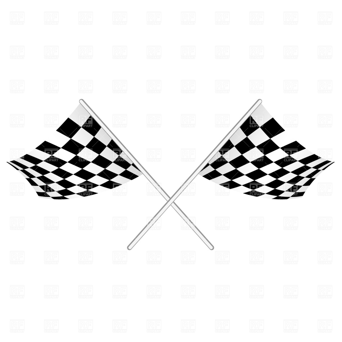 1200x1200 Checked Start Flag Vector Image Vector Artwork Of Sport And