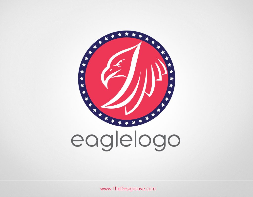 1024x800 Free Vector Eagle Logo For Start Up