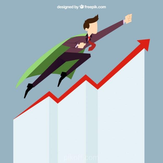 626x626 Ai] Business Man Start Up Success Vector Free Download