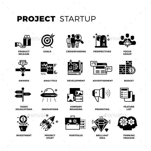 590x590 Start Up Entrepreneur Vector By Microvone Graphicriver
