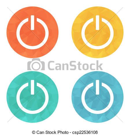 450x470 Start Power Button Icon