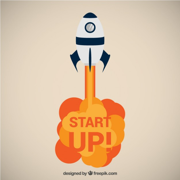 626x626 Start Up! Vector Free Download