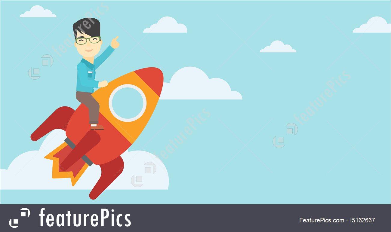 1300x772 Business Start Up Vector Illustration. I5162667