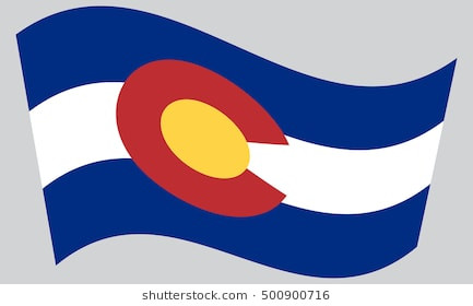 433x280 Patriots Flags Banners Unique Colorado State Flag Stock S