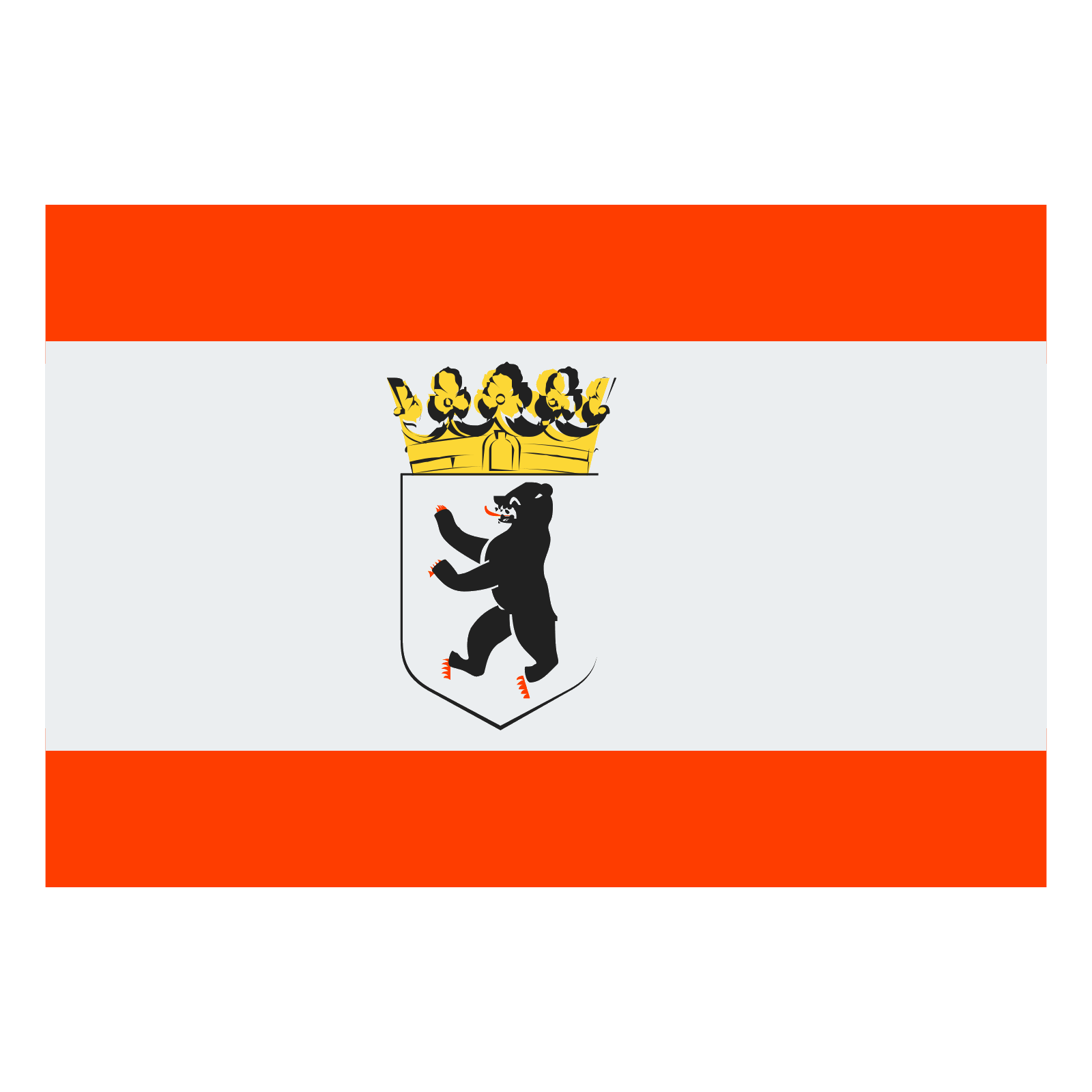1600x1600 State Flag Of Berlin Icon