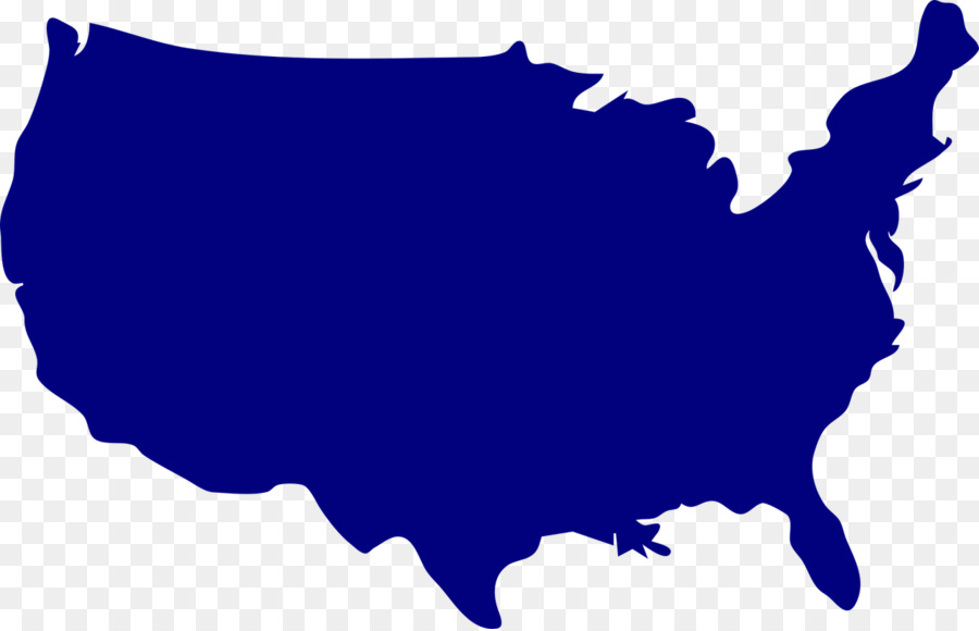 900x580 United States Vector Map