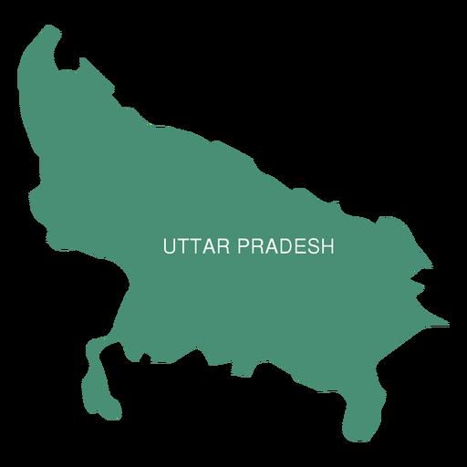 512x512 Uttar Pradesh State Map