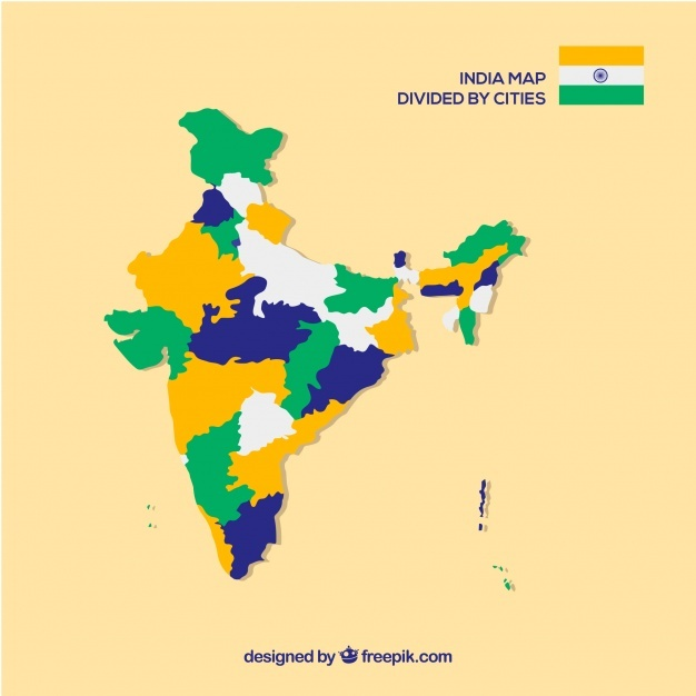 626x626 India State Map Vectors, Photos And Psd Files Free Download