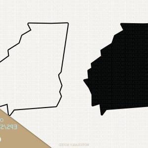 300x300 Georgia Vector State Clipart Ga Clip Art Lazttweet