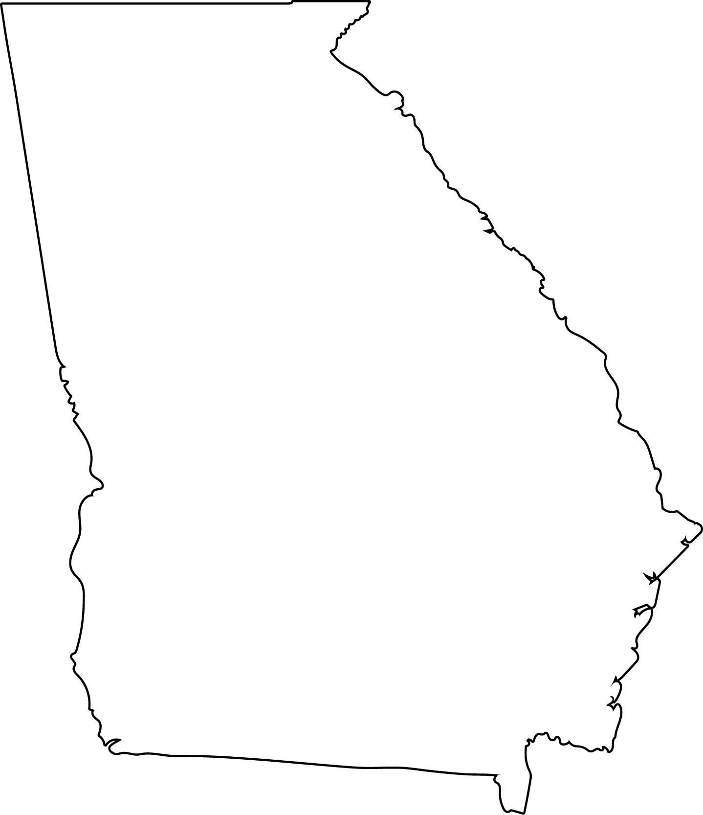 1438x1666 Georgia Clipart Ga State, Georgia Ga State Transparent Free For