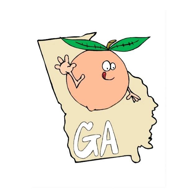 630x630 Maps Georgia State On Map