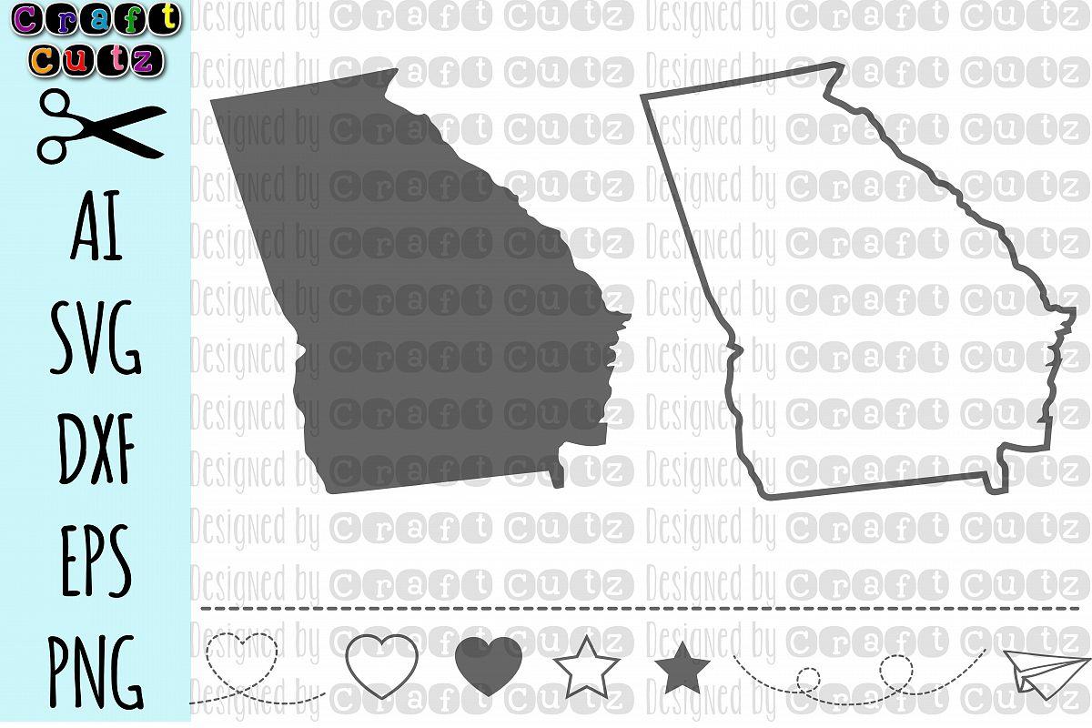 1200x800 Georgia Svg, State Svg Files, Georgia Vector, United States Svg
