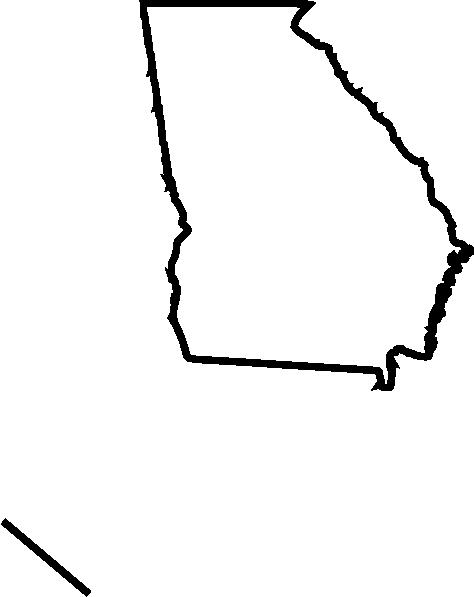 474x597 Georgia Outline Vector 19 Blank Huge Freebie Download For