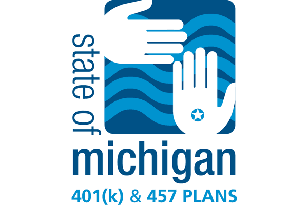 600x400 State Of Michigan 401(K) Amp 457 Plans Logo Vector (.svg + .png)