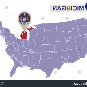300x300 Flag Michigan State United States Vector Lazttweet