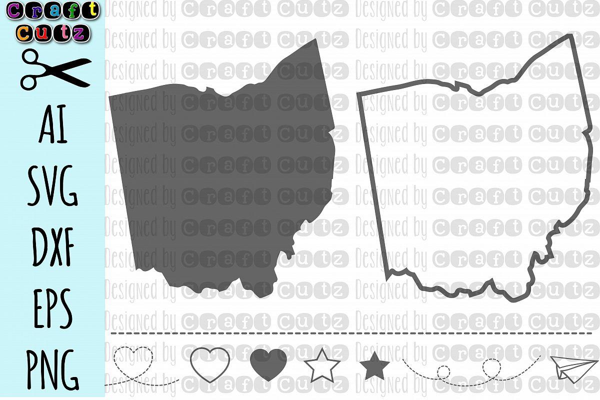 1200x800 Ohio Svg, State Svg Files, Ohio Vector, United States Svg, State