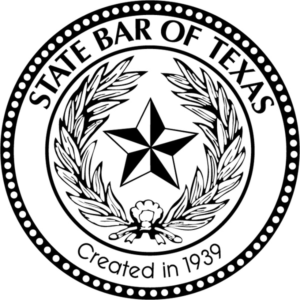 600x600 State Bar Of Texas Free Vector In Encapsulated Postscript Eps