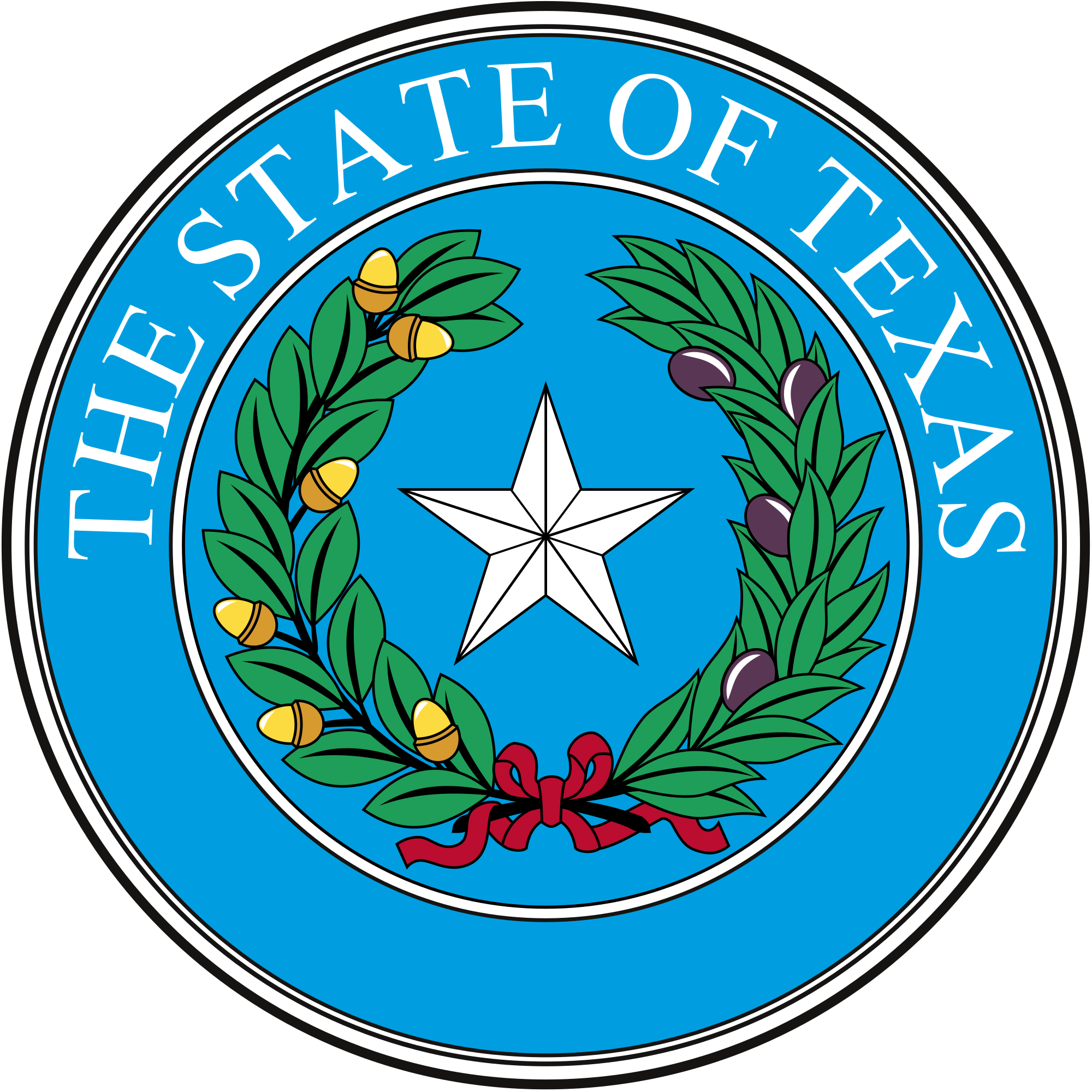 2000x2000 Fileseal Of Texas.svg