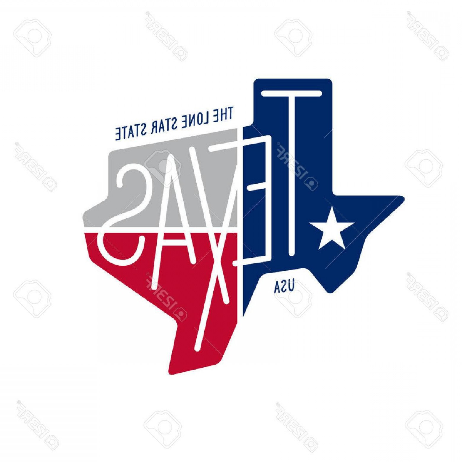1560x1560 Photostock Vector Texas Related T Shirt Design The Lone Star State