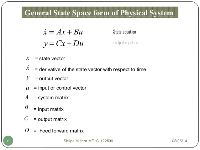 638x479 State Space Analysis, Eign Values And Eign Vectors