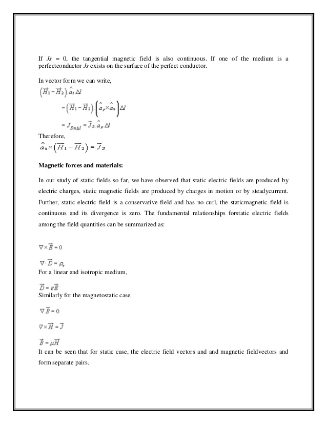 638x826 Electromagnetic Field Theory Lecture Notes