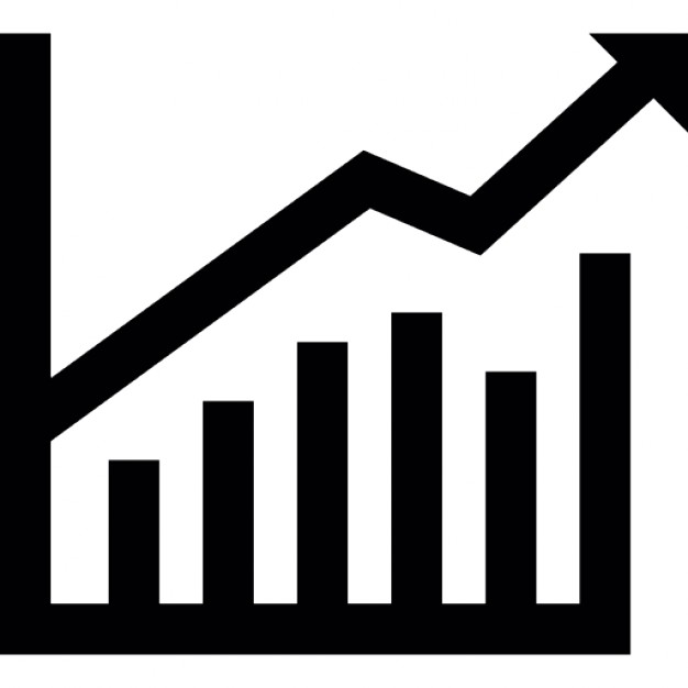 626x626 Stocks Graphic For Business Stats Icons Free Download