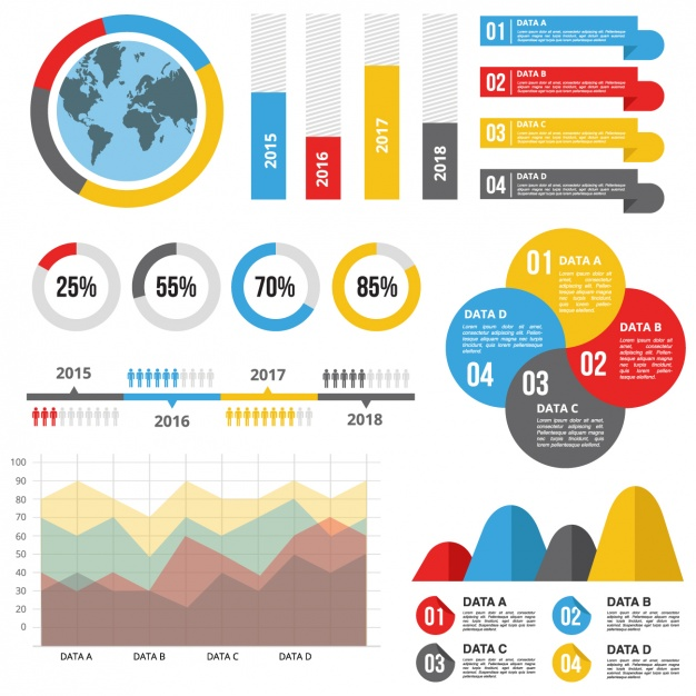 626x626 Infographic Template With Useful Statistics Vector Free Download