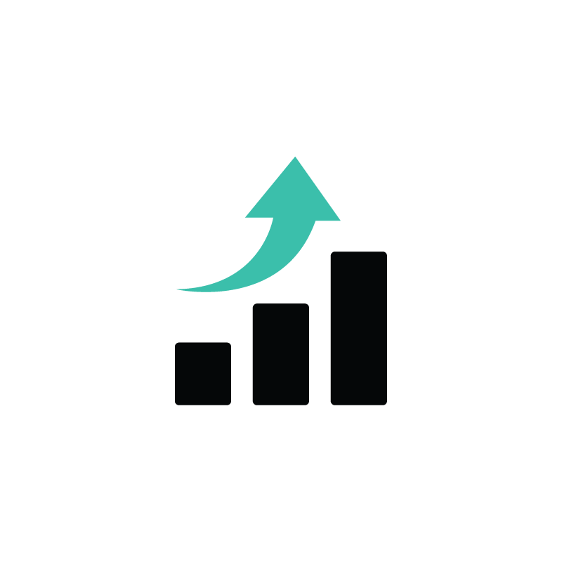 800x800 Analytics, Sales, Finance, Statistics Vector Icon