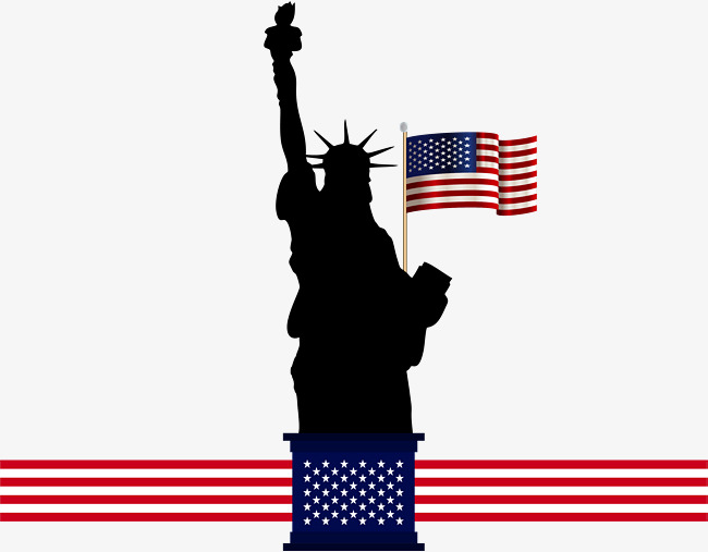 Statue Of Liberty Vector Art