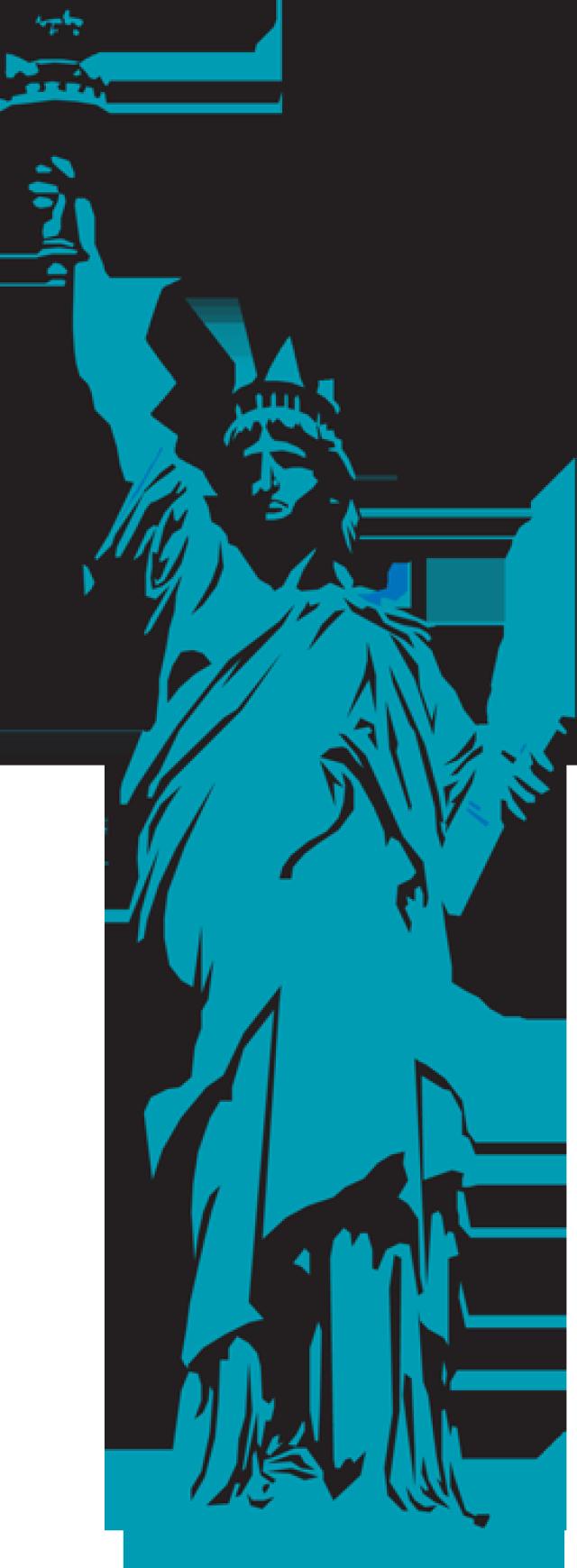 640x1739 Manhattan Clipart Statue Of Liberty Clipart