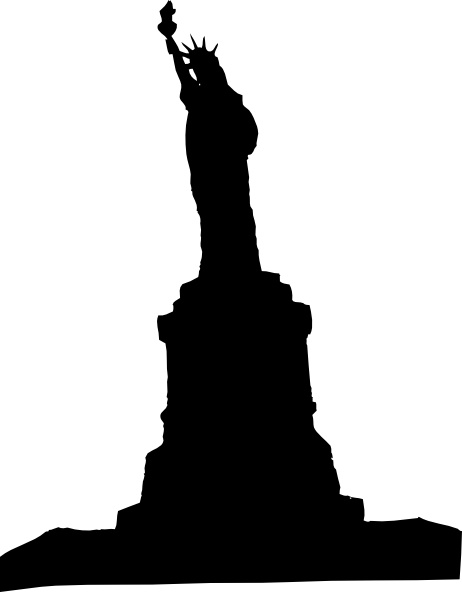 462x592 Statue Liberty 1 Clip Art Free Vector In Open Office Drawing Svg