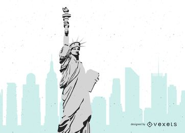 362x260 Statue Of Liberty Vector Graphics To Download