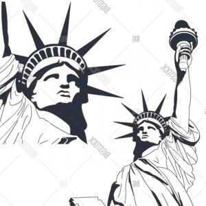 300x300 Stock Vector Statue Of Liberty In Very High Detail In Vector Art