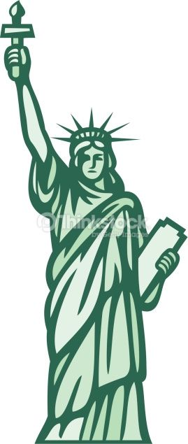 269x635 Vector Art Statue Of Liberty Statue Of Liberty