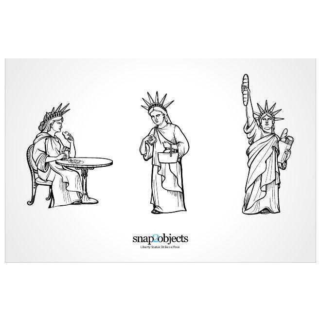 660x660 Statue Of Liberty Vector Image Free Vectors Ui Download