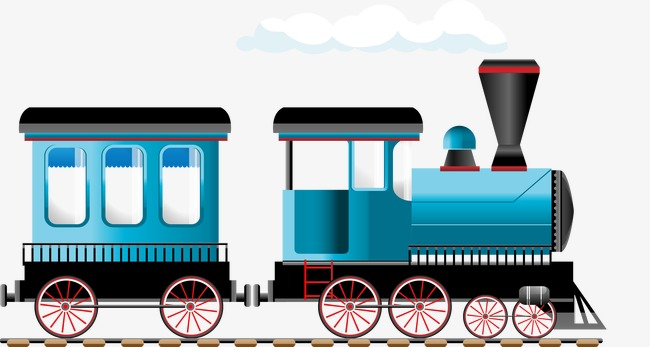 650x347 Steam Train, Train Vector, Blue Train Png And Vector For Free Download