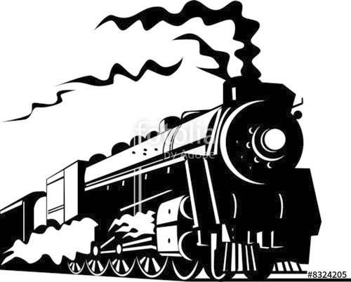 500x402 Steam Locomotive Stock Image And Royalty Free Vector Files On