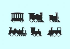 285x200 Steam Train Free Vector Graphic Art Free Download (Found 1,838