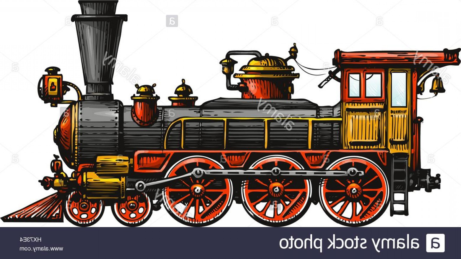 1560x876 Stock Photo Vintage Steam Locomotive Drawn Ancient Train Transport