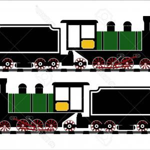 300x300 The Vintage Steam Train Vector Orangiausa