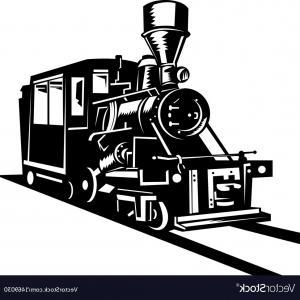 300x300 Vintage Steam Train Locomotive Vector Lazttweet